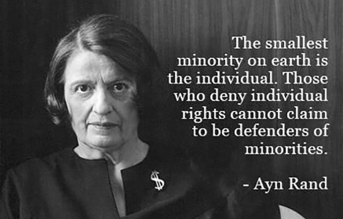 ayn-rand-smallest-minority-is-individual
